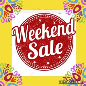 🎉WEEKEND SALE-  MOST OFFERS ACCEPTED 🎉